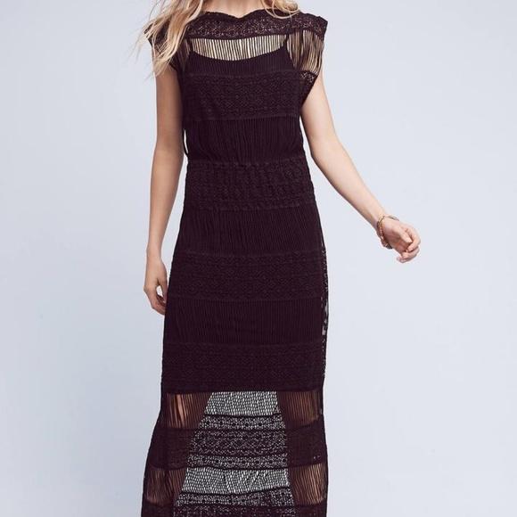 ff754deacbcd Anthropologie Dresses   Amelia Crocheted Maxi Dress Callahan   Poshmark